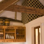 2013Barn-Kitchenette-Beams2